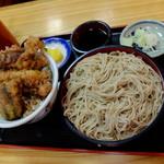 """米むら - """"天丼セット"""""""