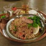 三条スパイス研究所 - 料理写真:鮭ビリヤニ(チリチキンカレー)