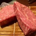 炭火焼肉 ふちおか - シャトーブリアン(1カット) 2,800円×2=5,600円