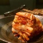 炭火焼肉 ふちおか - 白菜キムチ 400円