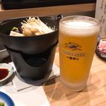 喜助 - 最初は生ビール