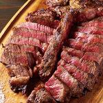 US産ブラックアンガス牛の肉盛りプレート
