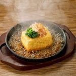 豆富のガーリックステーキ/伍郎のもめん揚げ出し豆富