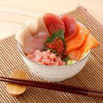 小さな海鮮丼
