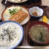 尾山屋 - 料理写真:海老カツ定食 @850