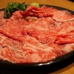 奥田 - 料理写真:奥田オリジナル牛トロ