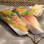 玄海鮨 - 追加  サバ2貫  メッチャうま!