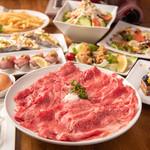 厚切りニクバル BLUE BEAR  - 牛すき焼き鍋 国産牛肉を使用した贅沢なコース