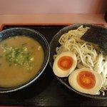 ラーメン鶴 - つけ麺大盛 \790 味玉 \100