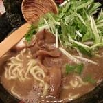 九十九ラーメン - 魚介醤油とんこつラーメン2018.11.3