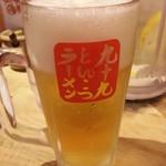 九十九ラーメン - 生ビール(中)2018.11.3