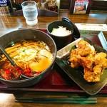 五味八珍 - 鳥唐揚げユーリンチ風、ラーメンセット  ¥777