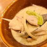 タイレストラン Thian - グリーンカレーはチキンがいっぱい♪