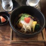 大正浪漫 黒船屋 - 野菜カレー