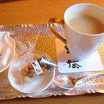 珈琲.吉茶 - カフェオレ