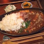 サボンカフェ - サボンカレー定食(950円)
