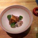 96630 - 鰯と素朴な胡瓜の味噌和え