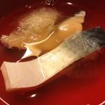 96001920 - 【煮物腕】船場汁(塩鯖と大根)