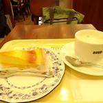 ドトールコーヒーショップ - 料理写真:ケーキセット