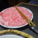木曽路 - 和牛霜降り肉 美しい