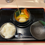 Aburishimizu - チーズたっぷりスープカレー ¥980