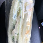 イチパン - 料理写真:サンドイッチ250円(税別)