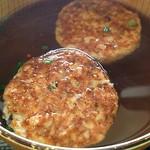 青倉商店 - 料理写真:【お出汁の香る無添加汁 ¥180(税込)】鯵のさんが汁