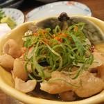 徳田酒店 - モツ煮?