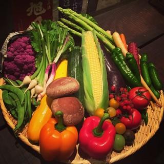 産地直送の新鮮なお野菜が随時入荷致します。