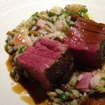 TTOAHISU - お肉は柔らかく口に入れるとトロケ、、とても美味しい。