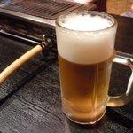 とん八 - 生ビール