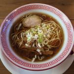 麺切り 白流 - 中華そば 小(無料券)