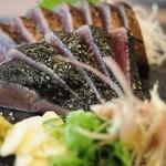 明神丸 - 料理写真:これやきセット二十四切 塩たたき