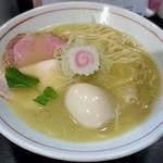 ナマイキ ヌードルズ - 料理写真:【鶏塩白湯 + 煮卵】¥780 + ¥100