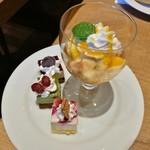リトルモンスター - やや固めの食感で懐かしい美味しさのプリン、ミニサイズで色々試せるカットケーキ