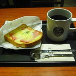 タリーズコーヒー - モーニングセット(500円)