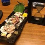 居酒家喜蔵 奈良店 - 砂時計で鮮度を管理