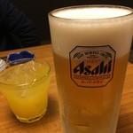 居酒家喜蔵 奈良店 - 大好きなスーパードライ