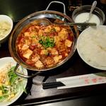 """沸騰漁府 - """"麻婆豆腐定食"""""""