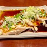 カドクラ商店 - よだれ鶏 490円