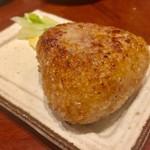 カドクラ商店 - 焼おにぎり(バター醤油)290円