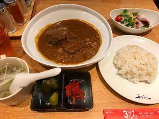 利久 渋谷ヒカリエ店 - 牛たんちょっとぜいたくなカレー定食