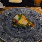 イン ザ ミスト - 料理写真:朝食の一皿