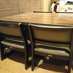 穂のか - 2階席(12月1日より6人テーブル席に変わります)