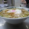 中華そば みたか - 料理写真:ラーメン/卵(半熟)