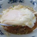 中華そば みたか - ラーメン/卵(半熟)