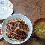 力餅 - ソースカツ丼