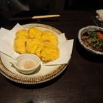 土竜 - 安納芋の天ぷら
