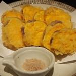 土竜 - 安納芋の天ぷらアップ