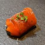 シェフズテーブル リセノワール - ペペロナータ(焼きパプリカのマリネ)